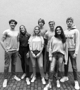 v.l.n.r.: Henri Knoth (S1), Greta von Ehren (S1), Jill Clemens (S1), Moritz Becker (S1), Jonas Alex (S1), Yalin Buse (S1) & Julian Kriesten (S1)